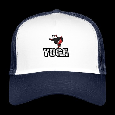 Dans Yoga Bear Retro New Age - Trucker Cap