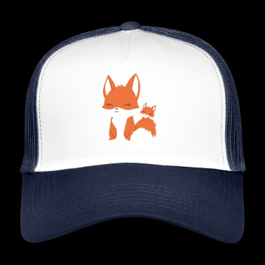 Fox - Vixen - Family - Gift - Fox - Trucker Cap