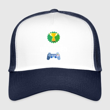 Niveau Unlocked 4. klasse Gamer Gaming gave - Trucker Cap