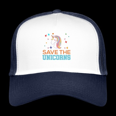 Save the unicorns - Trucker Cap
