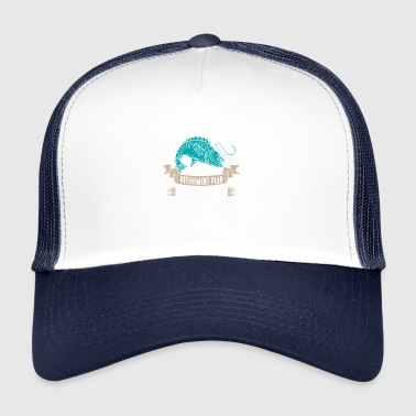 As a pensioner I go fishing !!! - Trucker Cap
