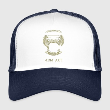 cadeau épée Viking Ax Germane - Trucker Cap