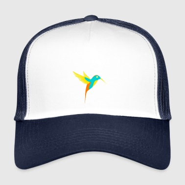 Hummingbird Colorful - Trucker Cap