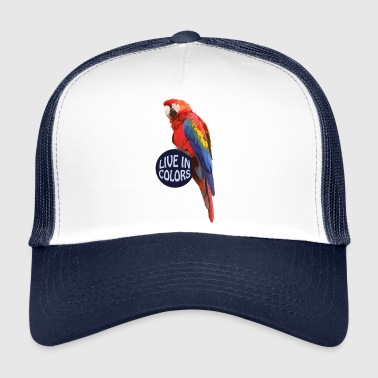 Parrot Live in colors - Papagei - Trucker Cap