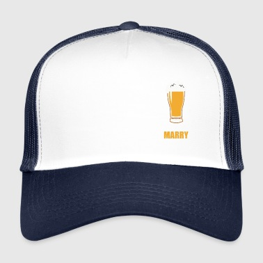 Farewell bachelor - Trucker Cap