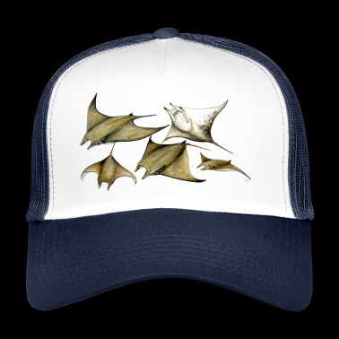 Tarapacana Mobula Stingray - Devil Fish - Raie - Trucker Cap