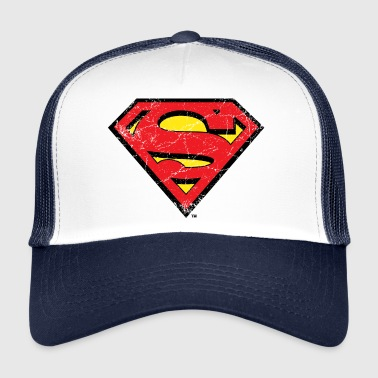 Superman Logo S-Shield vintage Snapback Cap - Trucker Cap