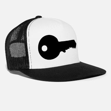 Key Button key - keys - Trucker Cap