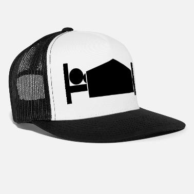 Bed morning wood - Trucker Cap