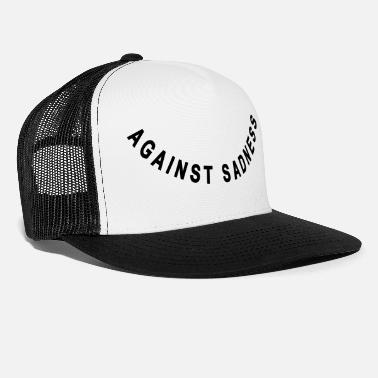 Fødsel against sadness (smiley) - Trucker cap