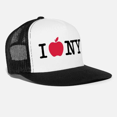 Love I love big apple 2 - Casquette trucker