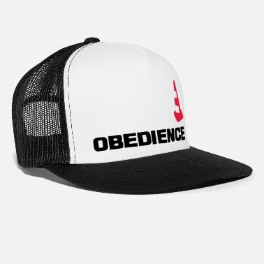 Obedience mit Pylone - Trucker Cap
