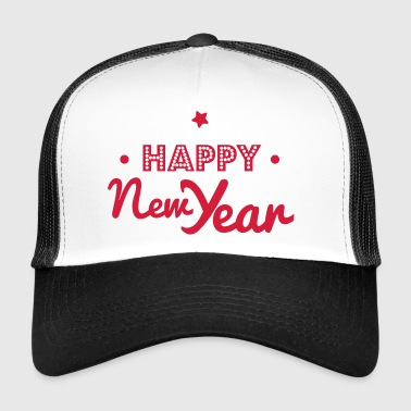 happy new year - Trucker Cap