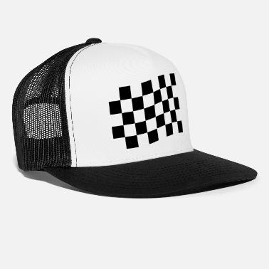 Checkered Flag Checkered flag - Trucker Cap