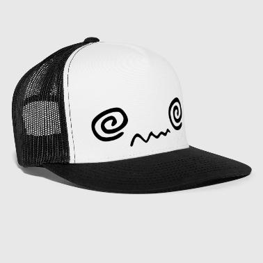 kawaii_face_3 - Trucker Cap