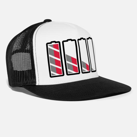 Charge Caps & Hats - power - Trucker Cap white/black