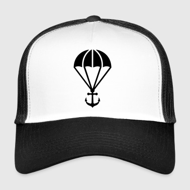Parachute with anchor - Trucker Cap