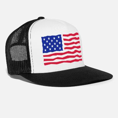 And Stars And Stripes / Flag / Flag - Trucker cap