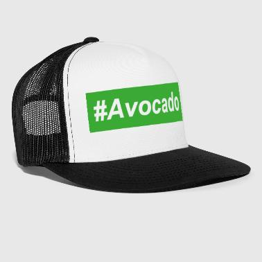 #Avocado Trendy Street Wear Vegan Gift Idea - Trucker Cap