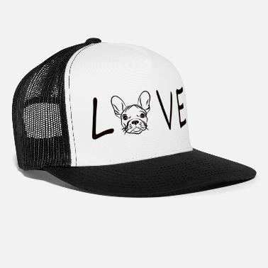 Bulldog Elsker Bulldog French Bulldog Frenchie - Trucker cap
