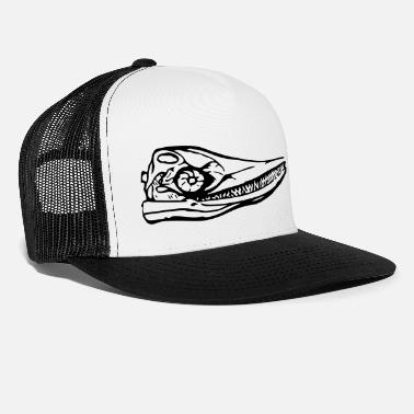 Primeval Times Primeval whale, whale, fossil, dinosaur, primeval times - Trucker Cap