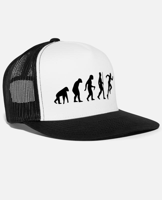 Runner Caps & Hats - SPRINTER EVOLUTION! - Trucker Cap white/black