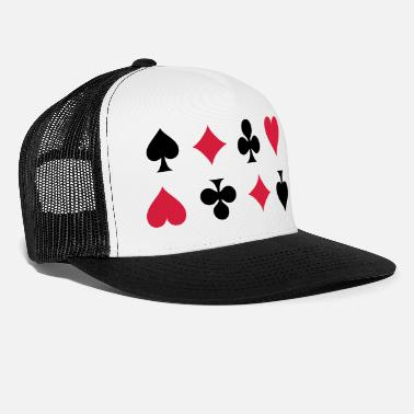Cards Card Suits - Trucker cap