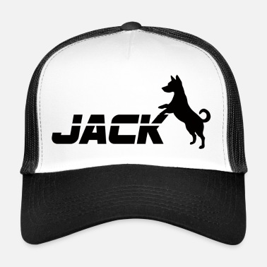 Jack Cane / Jack Russell Jack - Trucker Cap
