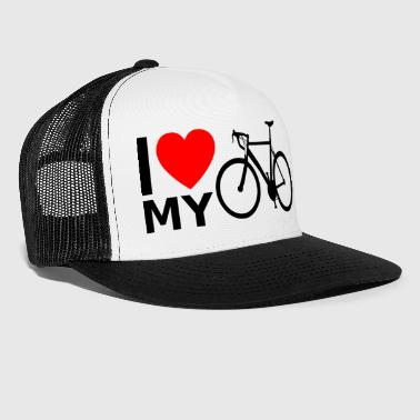 Bicycle road bike bike ride - Trucker Cap