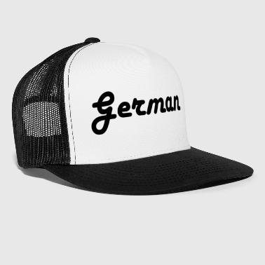 German - Trucker Cap