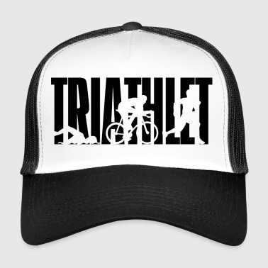 TRIATHLETE - triathlon - natation - vélo - course - Trucker Cap