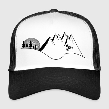 MTB Mountainbike Jump - Trucker Cap