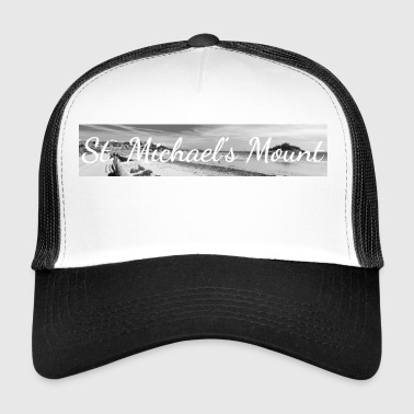 Cornwall Retro Lettering at St. Michael's Mount Cornwall - Trucker Cap