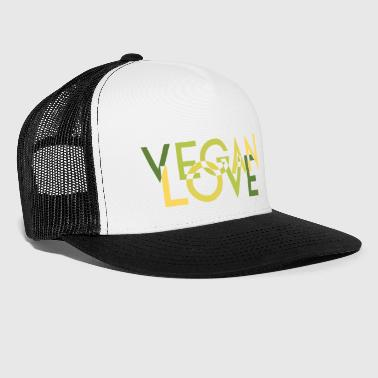 VEGAN LOVE MELT green - Trucker Cap