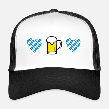 Bavaria Heart & Beer, Oktoberfest - Cappello trucker