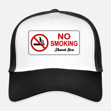 Interdiction interdiction de fumer - Trucker Cap