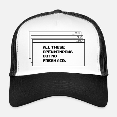 Thesis All thesis open windows - Trucker Cap