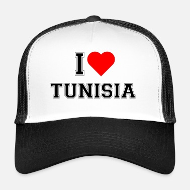 Tunisia I love Tunisia - Trucker Cap