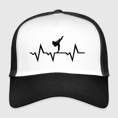 Martial Arts & Heartbeat, woman - Trucker Cap