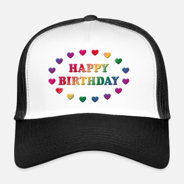 Happy Birthday Happy Birthday (Cumpleaños / Parto) - Gorra de camionero