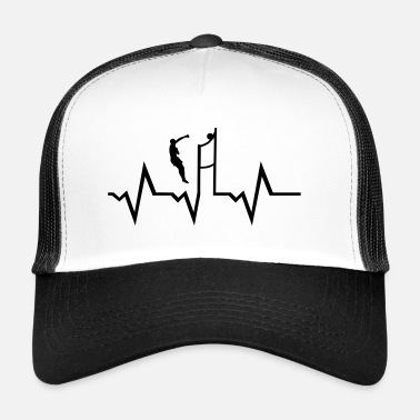 Beachvolley Volleyball Player & Heartbeat - Trucker Cap