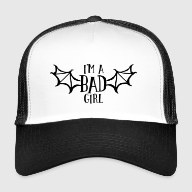 Trucker Cap - bad,bad girl,club,clubbing,dance,female,flirt,fun,funny,girl,hen night,innocent,lady,lovely,meme,nasty,nasty girl,party,quote,sexy,sexy girl,slogan,spontanious,wedding,woman