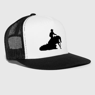 Sliding Stop Western Riding - Trucker Cap