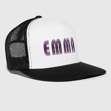 Emma name first name name day birth gift idea - Trucker Cap