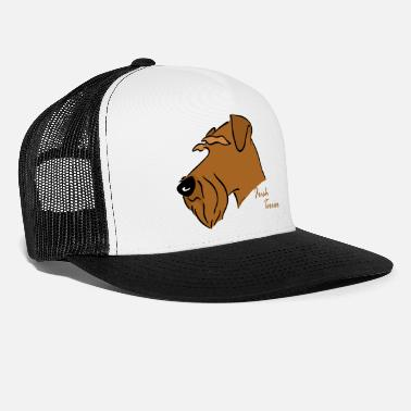 Irish Irish Terrier Kopf - Trucker Cap