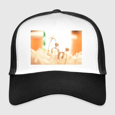 Wedding rings (wedding) - Trucker Cap
