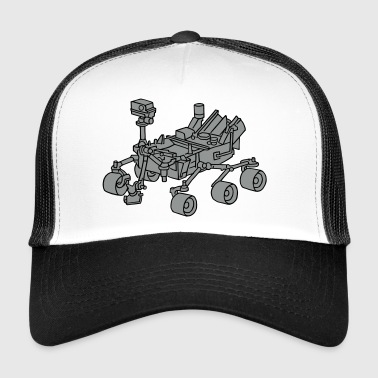 Nasa Curiosity, the Marsrover 2 - Trucker Cap