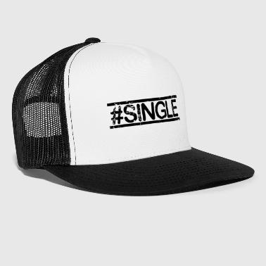 #SINGLE - noir - Trucker Cap