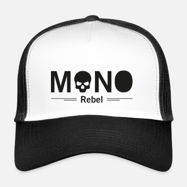 Rebel Lippu MONO Rebel - Trucker Cap