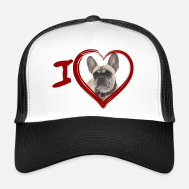 French Bulldog French Bulldog - French Bulldog (Painting) - Trucker Cap